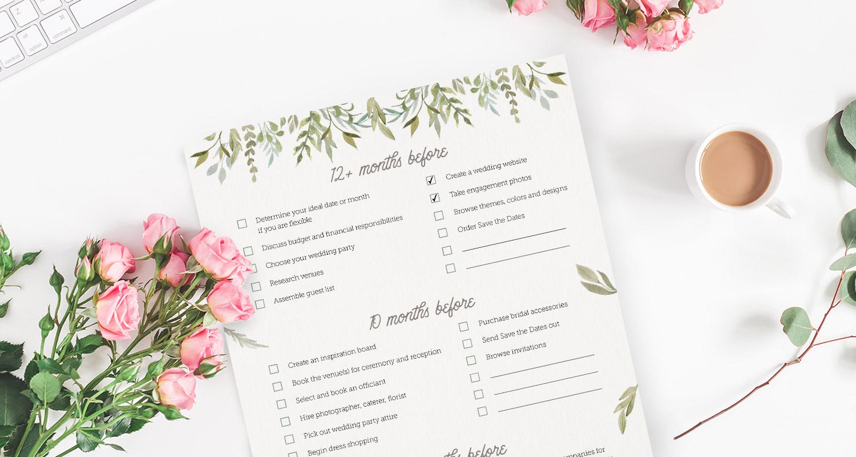 Free Wedding Planner Printable's - Bride Access